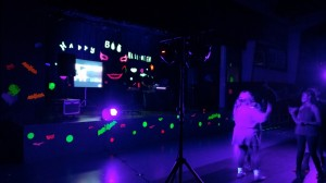 Guamani School - Black Light Party 1