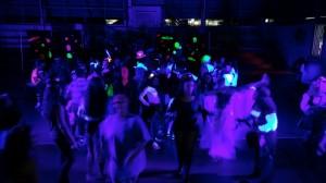 Guamani School - Black Light Party 4