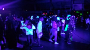 Guamani School - Black Light Party 6
