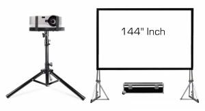 Projector + Big Screen Rental