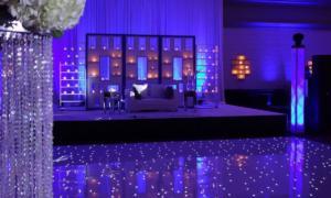 White Starlit Dance Floor Puerto Rico